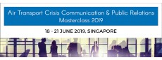 Air Transport Crisis Communication and Public Relations Masterclass 2019
