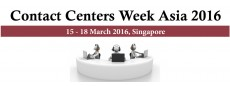 Contact Centers Week Asia 2016