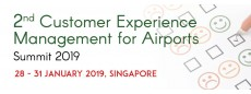 2nd Customer Experience Management for Airports Summit 2019