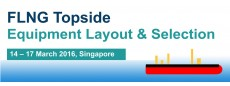 FLNG Topside Equipment Layout & Selection
