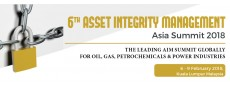 6th Asset Integrity Management Asia Summit 2018