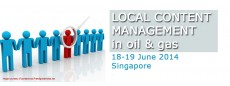 Local content management for Oil & Gas