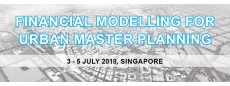 Financial Modelling for Urban Master Planning Masterclass 2018