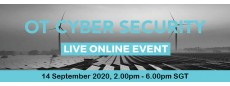 OT Cyber Security LIVE ONLINE EVENT 2020