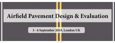 Airfield Pavement Design & Evaluation Masterclass UK 2019 Sep