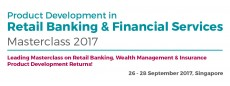 Product Development in Retail Banking & Financial Services 2017 Singapore