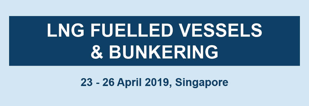 LNG FUELLED VESSELS AND BUNKERING MASTERCLASS