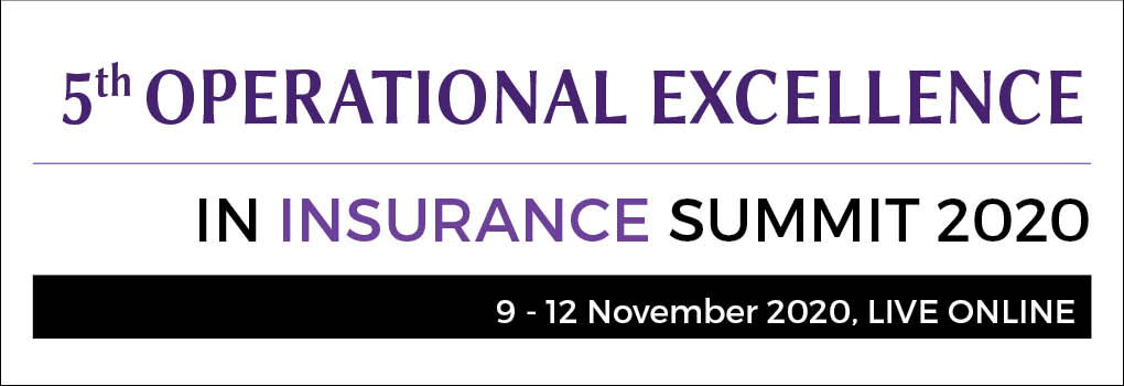 5th Operational Excellence in Insurance Summit LIVE ONLINE 2020