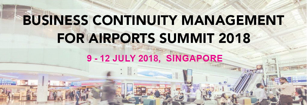 Business Continuity Management For Airports Summit 2018
