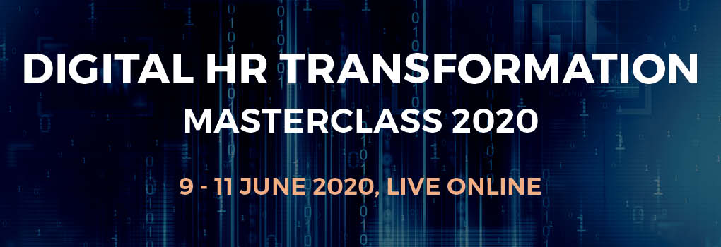 Digital HR Transformation Masterclass 2020